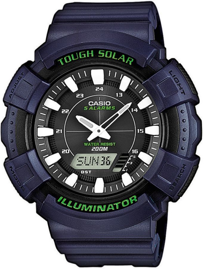 Pánské hodinky Casio AD S800WH-2A  WR200  (439)