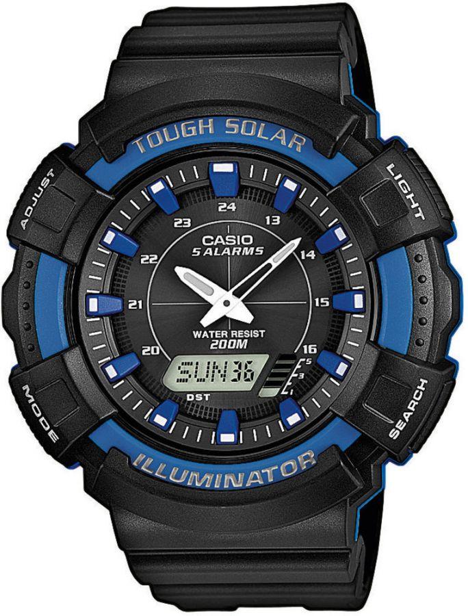 Pánské hodinky Casio AD S800WH-2A2  WR200  (439)