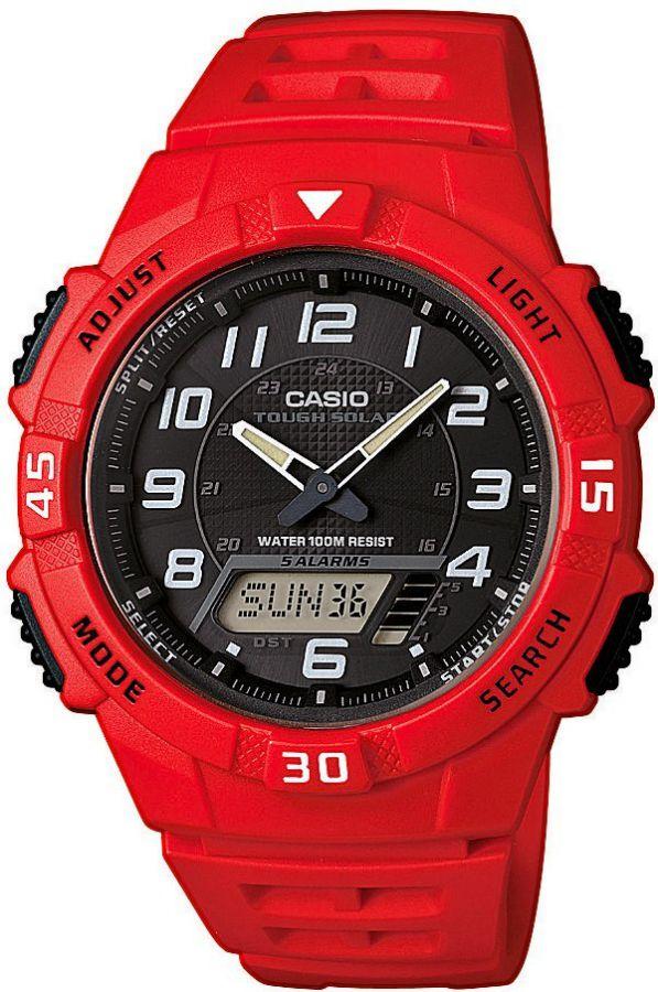 Pánské hodinky Casio AQ S800W-4B  WR100  (439)
