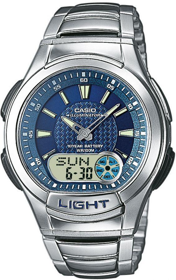 Pánské hodinky Casio AQ180D-2A  WR100  K(339)