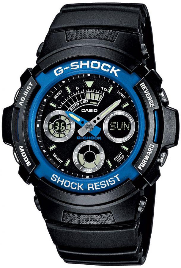 Pánské hodinky Casio AW591-2A  WR200 G-SHOCK (278)