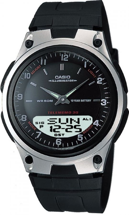 Pánské hodinky Casio AW80-1A  WR50  K(285)