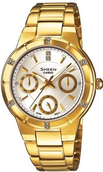 Dámské hodinky Casio SHE-3800GD-7A 394ec7c9763