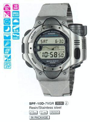 Casio SPF-10D-7