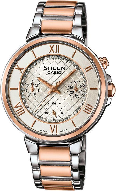 Dámské hodinky Casio SHE-3040SPG-7A bfaae4eec10