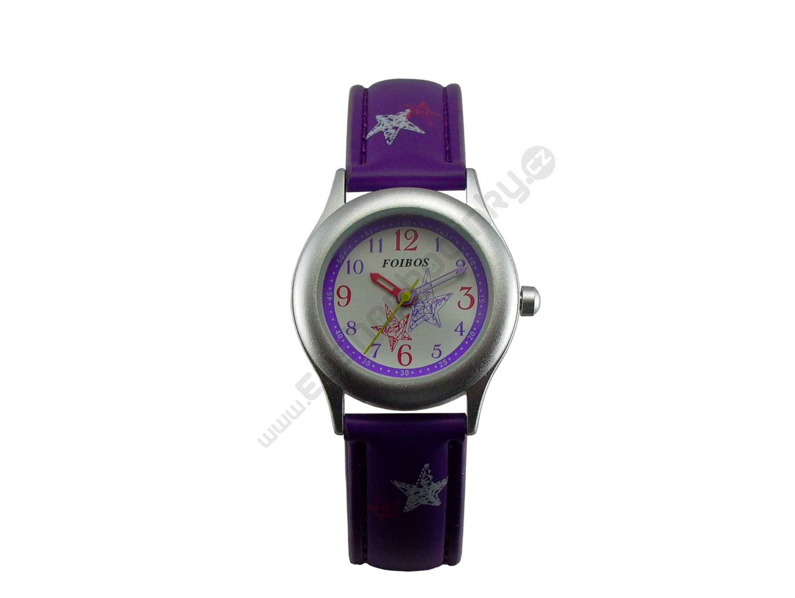 Dívčí hodinky Foibos fialové
