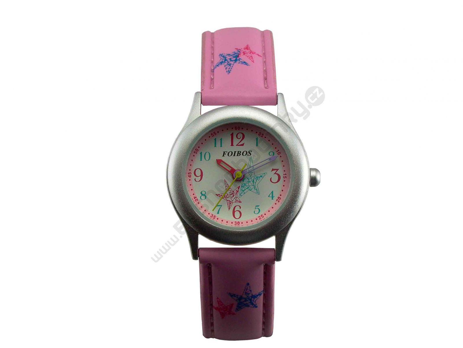 Dívčí hodinky Foibos růžové