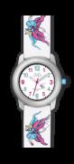 Dětské hodinky JVD J7161.1 bílo/fialové