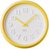 Zvětšit fotografii - Nástěnné hodiny JVD H101.2 žluté