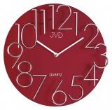 Nástěnné hodiny JVD HB10  červené