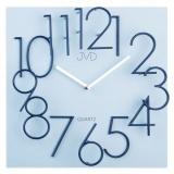 Nástěnné hodiny JVD HB24.2  šedo-modré