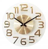 Nástěnné hodiny JVD HT098.1  zlaté
