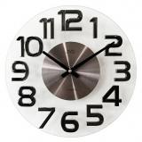 Nástěnné hodiny JVD  HT098.2  kovové