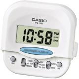Digitální budík Casio PQ30B-7 bílý