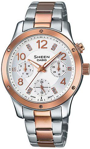 Dámské hodinky Casio SHE-3807SPG-7A 7839ee1ddae